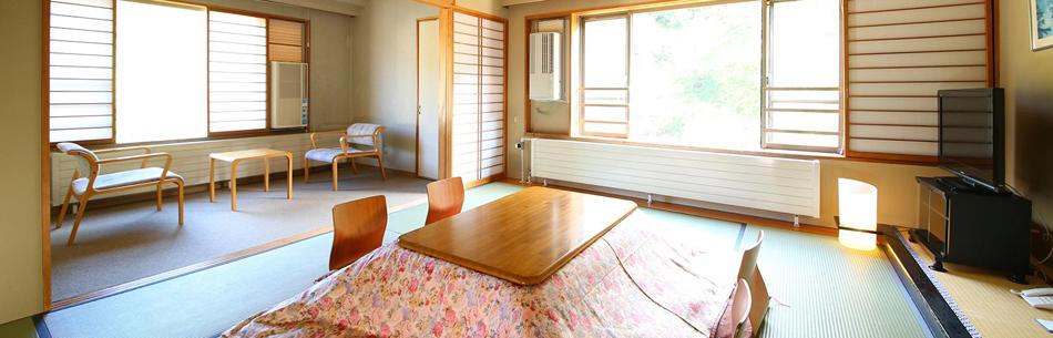デラックス10畳和室角部屋